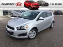 Used 2013 Chevrolet Sonic LT LOW KMS! for sale in Cambridge, ON