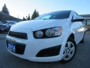 Used 2014 Chevrolet Sonic LT Auto-BLUETOOTH-HEATED SEATS-ONE OWNER for sale in Scarborough, ON