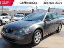 Used 2006 Nissan Altima 2.5 SL LEATHER HEATED SEATS ! AMAZING CONDITION FOR YEAR for sale in Edmonton, AB