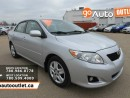 Used 2009 Toyota Corolla LE for sale in Edmonton, AB