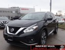 Used 2016 Nissan Murano Platinum  LOW MILEAGE NO ACCIDENTS  for sale in Scarborough, ON
