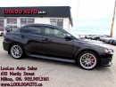 Used 2013 Mitsubishi Lancer Evolution GSR 5 Speed Manual Bluetooth Certified Warranty for sale in Milton, ON