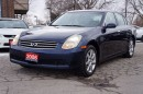 Used 2006 Infiniti G35X Luxury 1 Owner.. Mint Condition! for sale in North York, ON