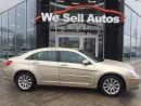 Used 2010 Chrysler Sebring Touring *ALLOY WHEELS *PWR SEATS *PWR SUNROOF for sale in Winnipeg, MB