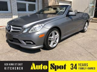 Used 2011 Mercedes-Benz E-Class E550/ VERY DESIRABLE CAR! for sale in Kitchener, ON