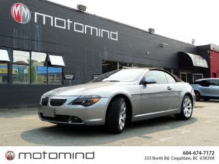 Used 2004 BMW 6 Series 645CI for sale in Coquitlam, BC