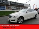 Used 2014 Cadillac ATS 2.0 Turbo Luxury   AWD, LEATHER, NAV, CAM! for sale in St Catharines, ON