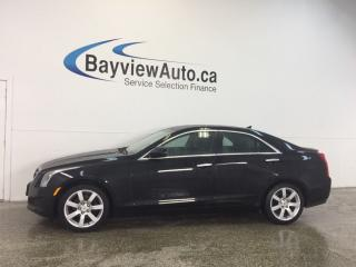 Used 2014 Cadillac ATS - 2.5L! TINT! PUSH BTN START! LEATHER! BOSE! for sale in Belleville, ON