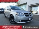 Used 2016 Dodge Grand Caravan R/T W/ NAVIGATION, LEATHER & STOW N GO SEATS for sale in Surrey, BC