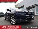 Used 2016 Jeep Cherokee Limited ACCIDENT FREE w/ SAFETY TEC PACKAGE, NAVIGATION & LEATHER UPHOLSTERY for sale in Surrey, BC