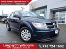 Used 2015 Dodge Journey CVP/SE Plus ACCIDENT FREE w/ POWER WINDOWS/LOCKS & A/C for sale in Surrey, BC