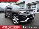 Used 2016 Jeep Grand Cherokee Summit ACCIDENT FREE w/ 4X4, DUAL HEADREST DVD ENTERTAINMENT & PANORAMIC SUNROOF for sale in Surrey, BC