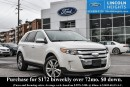 Used 2013 Ford Edge LIMITED AWD - LEATHER - BLUETOOTH - POWER LIFTGATE - BLINDSPOT MONITORING SYSTEM - VOICE ACTIVATED NAV - PANORAMIC ROOF - CLASS II TRAILER TOW PACKAGE for sale in Ottawa, ON