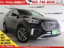 Used 2017 Hyundai Santa Fe XL Premium| AWD| BACK UP CAMERA & SENSORS| for sale in Burlington, ON