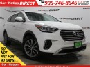 Used 2017 Hyundai Santa Fe XL Premium| AWD| BACK UP CAMERA & SENSORS| for sale in Burlington, ON