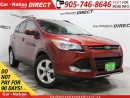 Used 2015 Ford Escape SE| LEATHER| BACK UP CAMERA & SENSORS| for sale in Burlington, ON