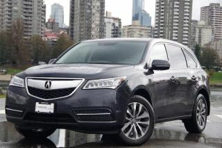 Used 2015 Acura MDX Tech at Tech Package- Rear DVD! *Tow Package* for sale in Vancouver, BC