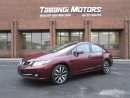 Used 2013 Honda Civic TOURING LEATHER SUNROOF NAVIGATION for sale in Mississauga, ON