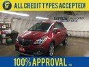Used 2013 Buick Encore PREMIUM*NAVIGATION*BACK UP CAMERA*AWD*LEATHER*POWER SUNROOF*BOSE AUDIO*POWER HEATED FRONT SEATS*ROOF RAILS*HEATED STEERING WHEEL* for sale in Cambridge, ON