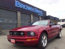 Used 2007 Ford Mustang convertible, leather, htd seats, for sale in Surrey, BC