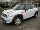 Used 2011 MINI Cooper Countryman 6 SPD.MANUAL,LEATHER,GLAS ROOF for sale in Mississauga, ON