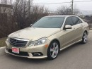 Used 2010 Mercedes-Benz E-Class E350 4Matic LANE/BLIND SPOT ASSIST|NAVI|BACKUP CAM for sale in Brampton, ON