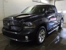 Used 2013 Dodge Ram 1500 Sport 4x4 Quad Cab - SUNROOF - GPS NAVIGATION - HEATED STEERING WHEEL - POWER LUMBAR ADJUST for sale in Edmonton, AB