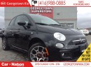 Used 2015 Fiat 500 SPORT | LEATHER | ALLOY WHEELS| BLUETOOTH for sale in Georgetown, ON