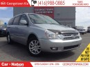 Used 2010 Kia Sedona EX | POWER DOORS | DVD PLAYER | CLEAN CARPROOF | for sale in Georgetown, ON