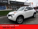 Used 2013 Nissan Juke SV   NAVIGATION, LEATHER, ROOF, HEATED SEATS! for sale in St Catharines, ON