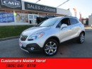 Used 2016 Buick Encore Leather   BLUETOOTH! GREAT CLICKS! REAR CAM! for sale in St Catharines, ON