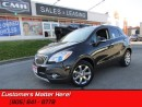 Used 2016 Buick Encore Leather   AWD, NAVIGATION, BLIND SPOT MONITORING! for sale in St Catharines, ON
