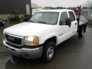 Used 2007 GMC Sierra Classic 3500 SLE Crew Cab 4WD Flat Deck for sale in Burnaby, BC
