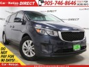 Used 2016 Kia Sedona LX| BACK UP SENSORS| PUSH START| POWER SEATS| for sale in Burlington, ON