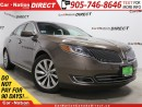 Used 2015 Lincoln MKS | AWD| BLIND SPOT DETECTION| DUAL SUNROOF| for sale in Burlington, ON
