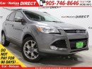 Used 2013 Ford Escape SEL| 4X4| LEATHER| PANO ROOF| NAVI| for sale in Burlington, ON