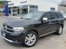 Used 2012 Dodge Durango Crew Plus 4WD for sale in Kitchener, ON
