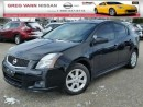 Used 2012 Nissan Sentra 2.0 SR w/all leather,NAV,heated seats,rear cam,sunroof for sale in Cambridge, ON