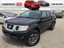 Used 2017 Nissan Frontier CREW PRO 4X LEATHER NAV SUNROOF for sale in Cambridge, ON