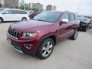 "Used 2016 Jeep Grand Cherokee Limited - V6  4x4  Sunroof  GPS  8.4"" Touch S for sale in London, ON"