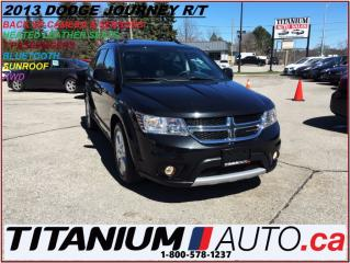 Used 2013 Dodge Journey R/T+AWD+7 PASS.+Camera+Sunroof+Heated Leather Seat for sale in London, ON