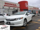 Used 2012 Honda Civic LX, one owner, original Roadsport car for sale in Scarborough, ON