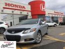 Used 2012 Honda Civic EX-L, navigation, power roof, heated seats for sale in Scarborough, ON