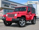 Used 2016 Jeep Wrangler Sahara/Hard and Soft Top, Navigation for sale in Markham, ON