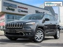 Used 2016 Jeep Cherokee Limited/Navigation/Leather Interior for sale in Markham, ON