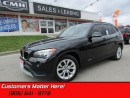 Used 2014 BMW X1 xDrive28i   HEATED LEATHER, DUAL CLIMATE, PUSHSTART! for sale in St Catharines, ON