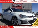 Used 2015 Volkswagen Golf GTI 3-Door | DSG | CLEAN CARPROOF | HEATED SEATS | for sale in Georgetown, ON