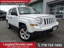 Used 2014 Jeep Patriot Sport/North ACCIDENT FREE w/ 4X4 & A/C for sale in Surrey, BC