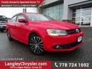 Used 2014 Volkswagen Jetta 1.8 TSI Highline W/ LEATHER, SUNROOF & 5-SPEED MANUAL for sale in Surrey, BC