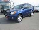 Used 2004 Toyota RAV4 C PACKAGE for sale in Hamilton, ON